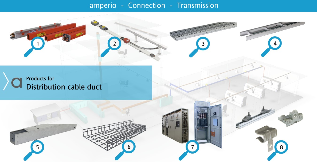 4.Low Voltage Distribution / Cable tray